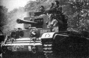 Czołg 1 Brygady Pancernej gen. Maczka